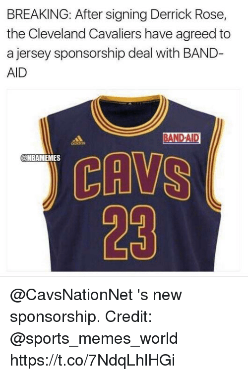 new product cc9d0 1ca95 BREAKING After Signing Derrick Rose the Cleveland Cavaliers ...