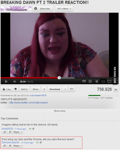 Youtube Top Comments