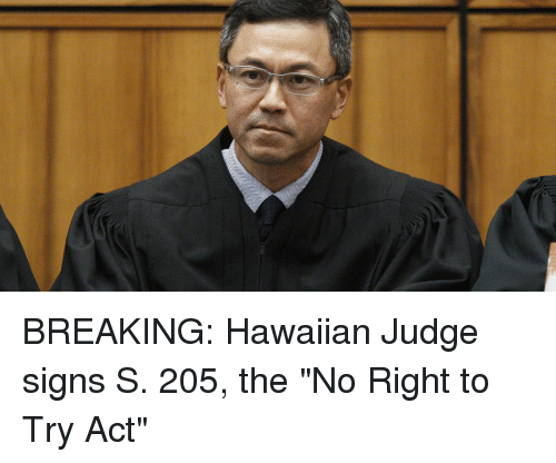 Hawaiian, Act, and Judge