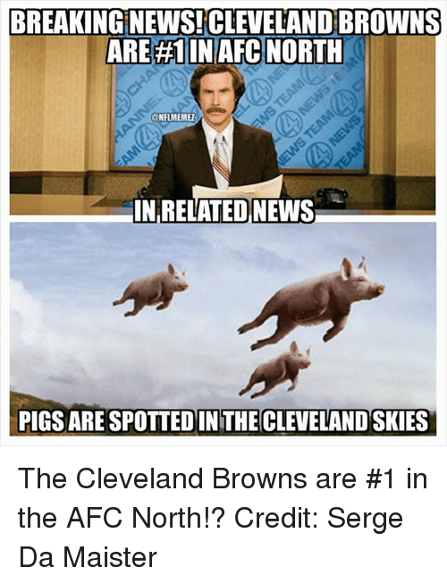 bc288c1e Cleveland Browns, News, and Nfl: BREAKING NEWS CLEVELANDBROWNS ARE #1 IN AFC