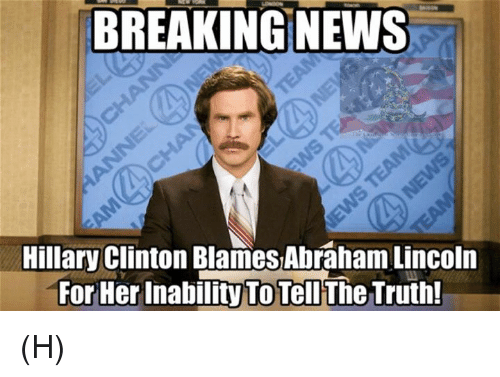 25 Best Memes About Abraham Abraham Lincoln And Hillary