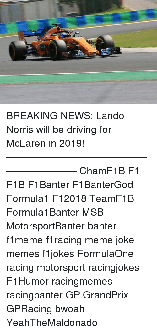 The New F1 Canna Cannova Is Set To Take Cannas To A New: 25+ Best Memes About Driving, F1, And News