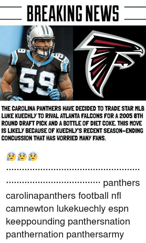 BREAKING NEWS THE CAROLINA PANTHERS HAVE DECIDED TO TRADE STAR MLB
