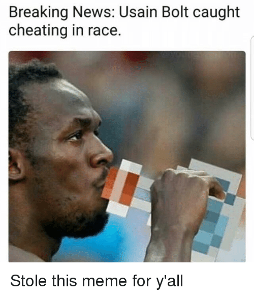 Breaking News Usain Bolt Caught Cheating in Race | Cheating