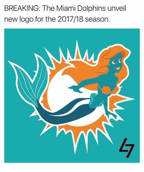 Dolphin Miami | Breaking The Miami Dolphins Unveil New Logo For The 201718 Season