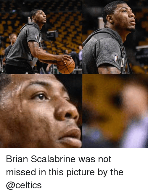 Memes, Celtics, and Brian Scalabrine: Brian Scalabrine was not missed in this picture by the @celtics
