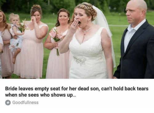bride leaves empty seat for her dead son cant hold 27018232 ✅ 25 best memes about father of the bride father of the bride,Meme Bridal