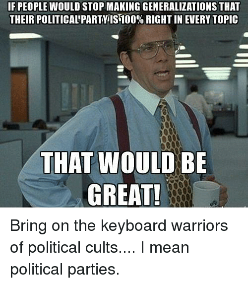Politics, Keyboard, and Mean