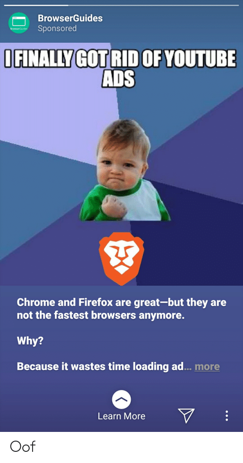 BrowserGuides Sponsored BrowserGuides IFINALLY GOT RID OF