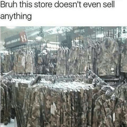 Bruh, Store, and This: Bruh this store doesn't even sell  anything