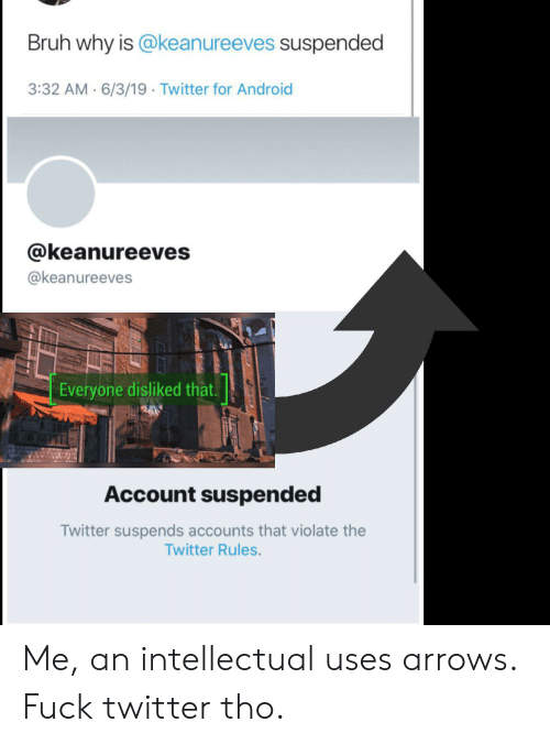 cb68be74 Bruh Why Is Suspended 332 AM 6319 Twitter for Android Everyone ...