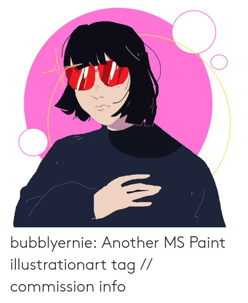 Target, Tumblr, and Blog: bubblyernie:  Another MS Paint illustrationart tag // commission info