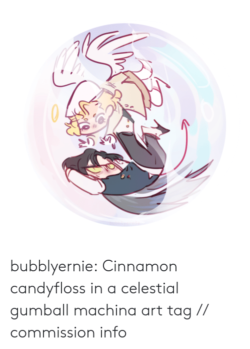 Target, Tumblr, and Blog: bubblyernie: Cinnamon candyfloss in a celestial gumball machina art tag // commission info