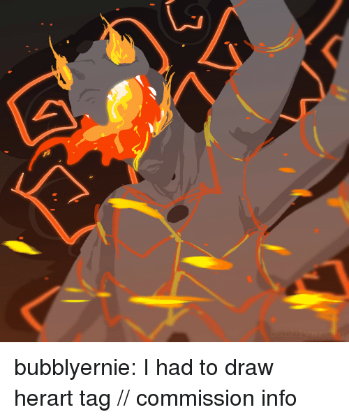 Target, Tumblr, and Blog: bubblyernie:  I had to draw herart tag // commission info