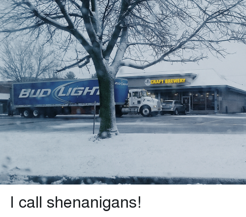 bud light hraft brewery i call shenanigans 12881831 ✅ 25 best memes about call shenanigans call shenanigans memes,I Call Shenanigans Meme
