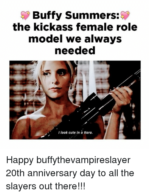 Buffy Summers the Kickass Female Role Model We Always Needed