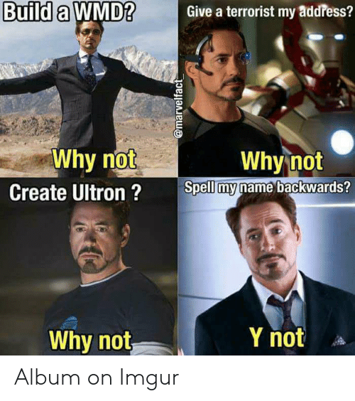 Build a WMD?Give a Terrorist My a 2 Why Not Create Ultron