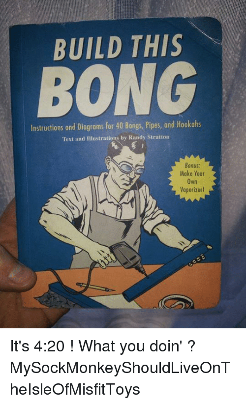 Build This Bong Instructions And Diagrams For 40 Bongs Pipes And