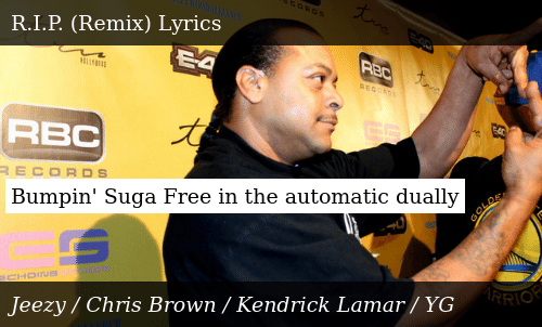 SIZZLE: Bumpin' Suga Free in the automatic dually