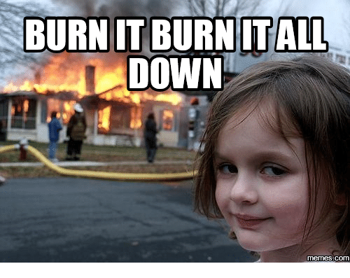 Disaster Girl Meme Zoe Roth Now |Evil Girl Burning House Meme