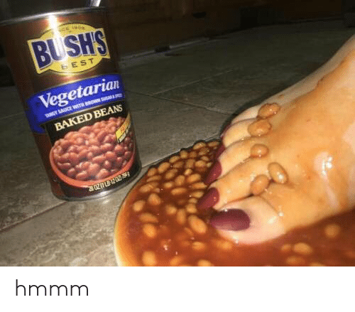 Bush S Best Vegetarian Pny Sauce With Rosu Baked Beans 20u202 Hmmm Baked Meme On Me Me
