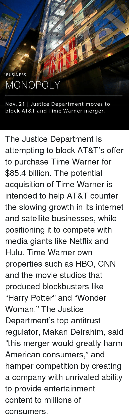 an introduction to the merge of media giant time warner and america on line Any day now, the department of justice will announce whether the at&t-time warner mega-merger will be permitted and anyone with a cell phone, a cable subscription, or an internet connection has a huge stake in this decision.