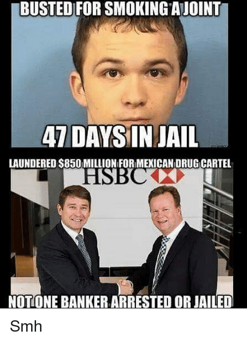 busted for smokingajoint 7 daysin jail laundered s850 million for 24944439 ✅ 25 best memes about banker banker memes,Banker Memes
