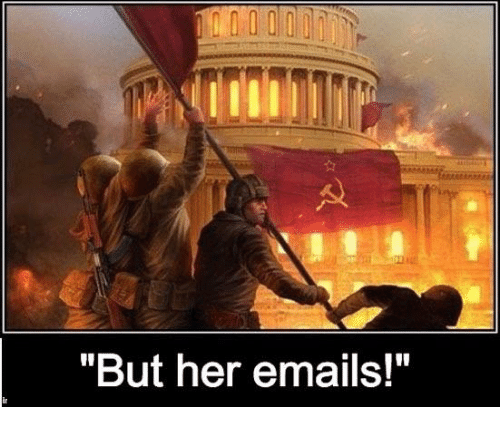but her emails meme on me me