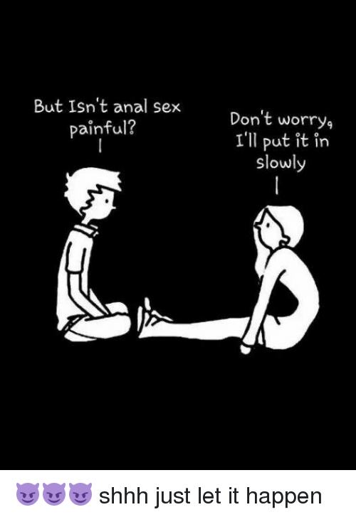 Anal sex lettere