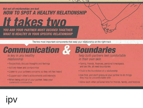 Ways to keep your relationship healthy