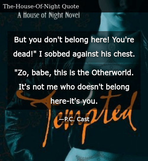 But You Don\'t Belong Here! You\'re Dead! I Sobbed Against His ...