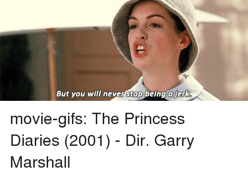 Tumblr, Blog, and Gifs: But you will never stop being a ierk movie-gifs:  The Princess Diaries (2001) - Dir. Garry Marshall