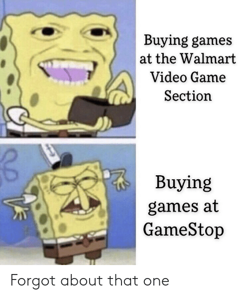 Buying Games at the Walmart Video Game Section Buying Games