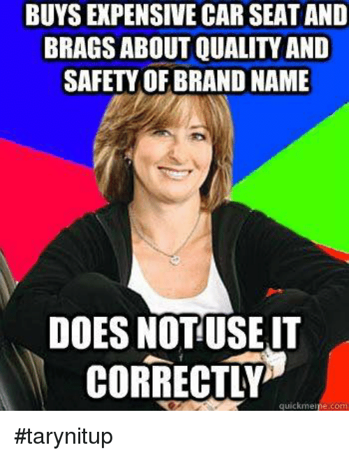 Memes And Brand BUYS EXPENSIVE CAR SEAT AND BRAGS ABOUT QUALITY
