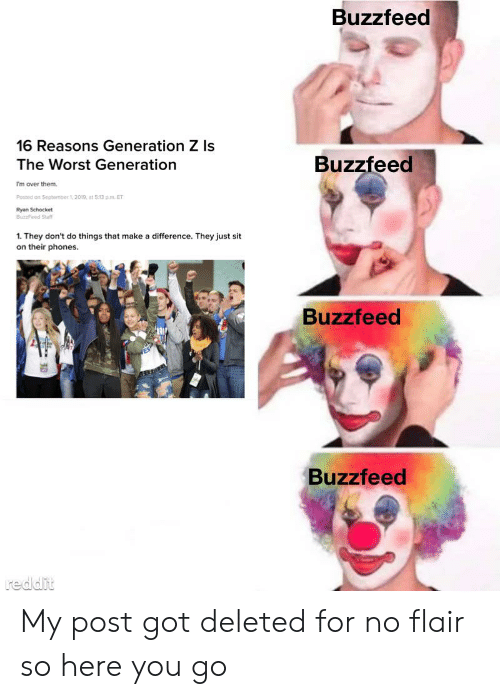 Buzzfeed 16 Reasons Generation Z Is Buzzfeed the Worst
