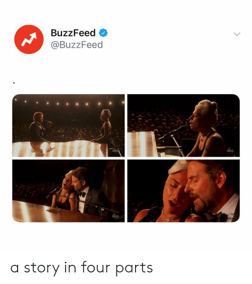Abc, Buzzfeed, and Relatable: BuzzFeed  @BuzzFeed  abc a story in four parts