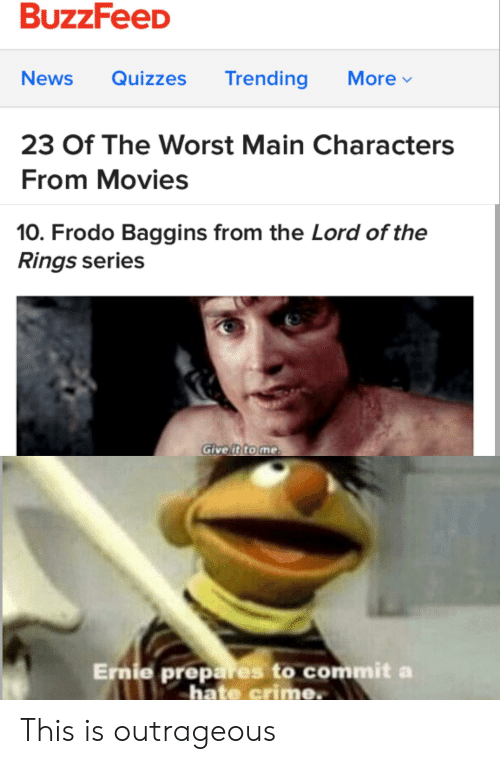 BuzzFeeD News Quizzes Trending More 23 of the Worst Main Characters