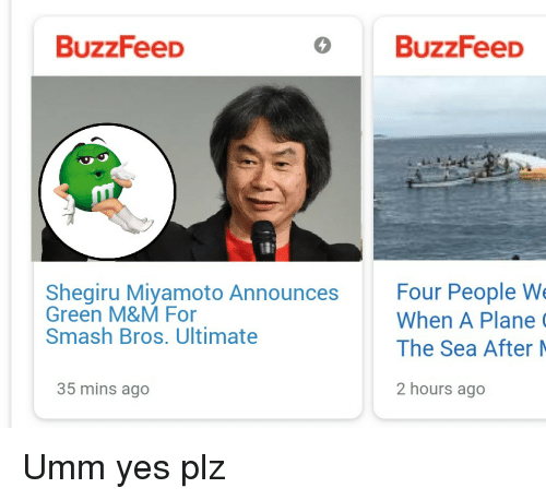 BuzzFeeD O BuzzFeeD Shegiru Miyamoto Announces Four People W