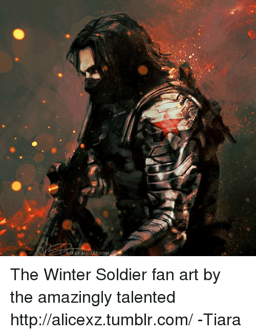 Beautiful Memes, Soldiers, And Winter: By AucDZ CONE The Winter Soldier Fan Art By