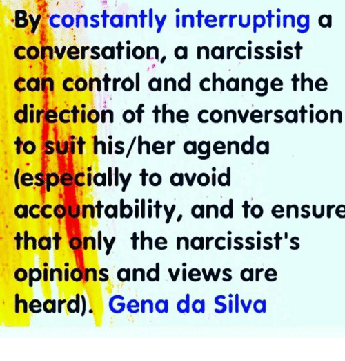 how to control a conversation