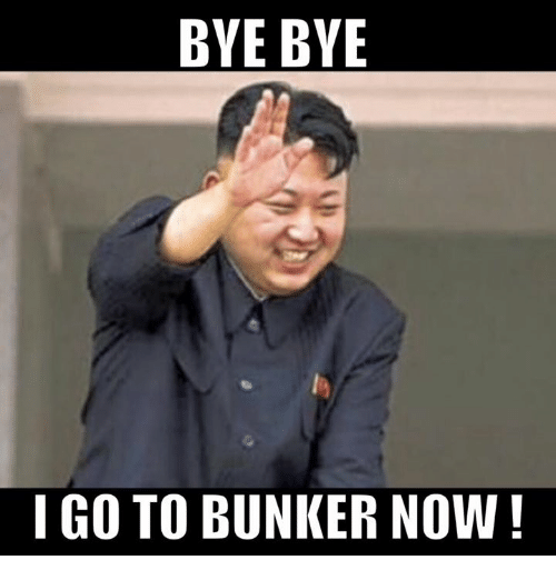 Bye Bye Igo To Bunker Now Meme On Me Me