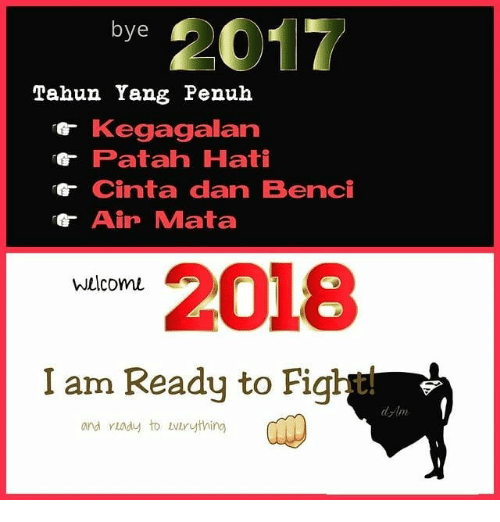 Indonesian (Language), Fight, and Air: bye  Tahun Yang Penuh  Kegagalan  Patah Hati  G-Cinta dan Benci  Air Mata  2018  I am Ready to Fight  Wwelcomu  2  and yiady to bvtruything  岬