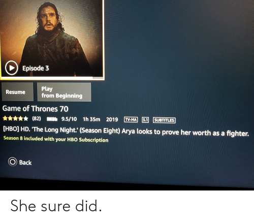 C Episode 3 Play From Beginning Resume Game of Thrones 70 82