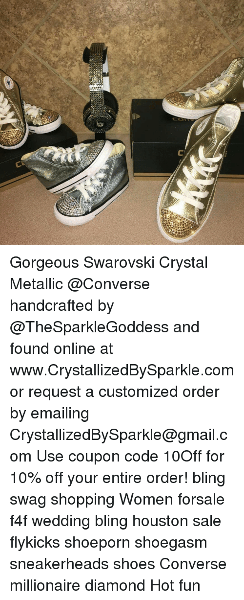 C Gorgeous Swarovski Crystal Metallic Handcrafted by and Found ... 9af0e74a270b