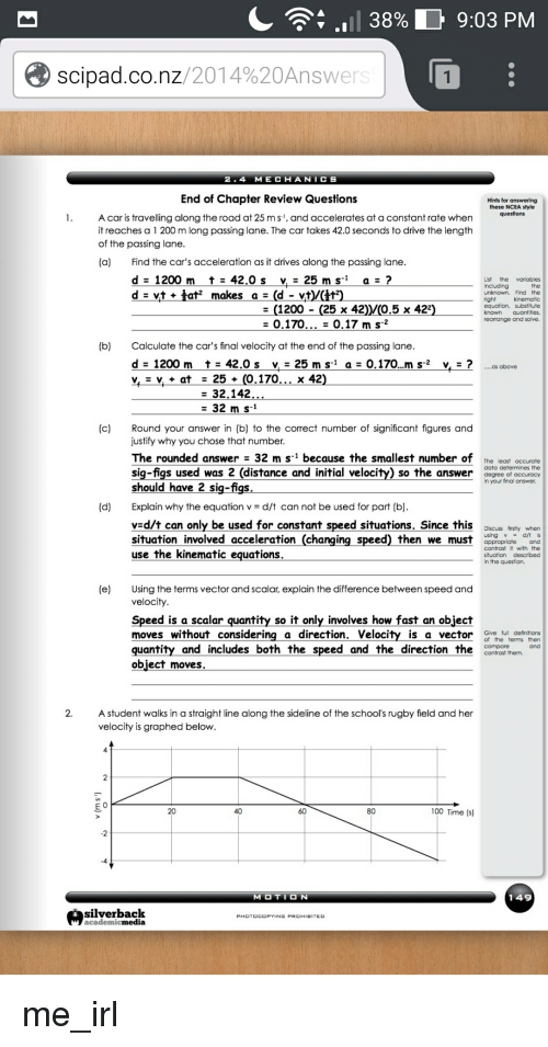 how to find initial velocity without final velocity