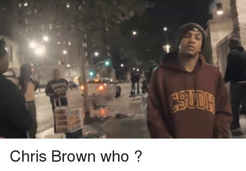 Blackpeopletwitter, Chris Brown, and Browns: C  SI Chris Brown who ?