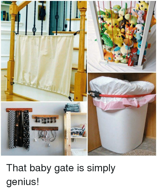 C That Baby Gate Is Simply Genius Baby It S Cold Outside Meme On