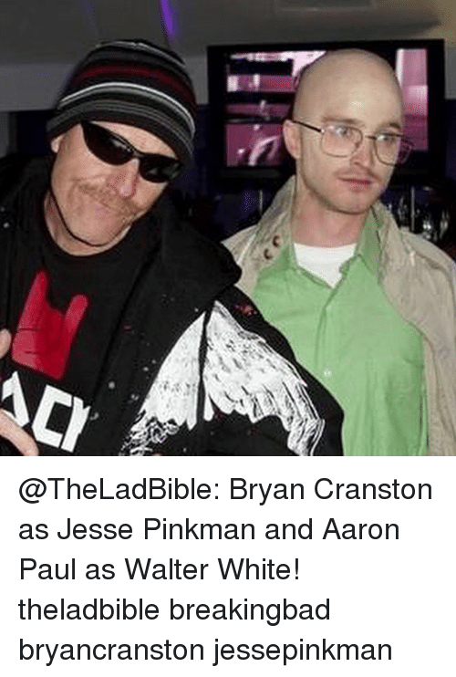 a731930a0b964 C Bryan Cranston as Jesse Pinkman and Aaron Paul as Walter White ...