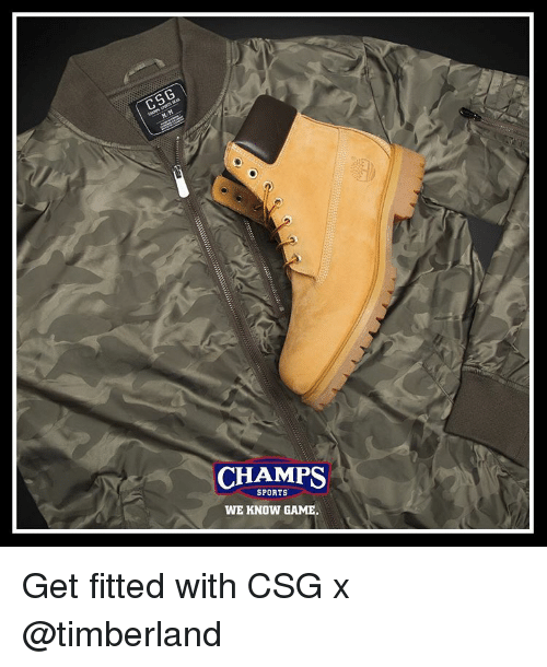 23ea95269061 C5G CHAMPS SPORTS WE KNOW GAME Get Fitted With CSG X