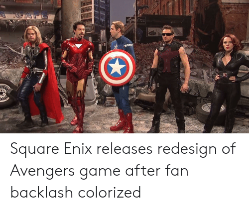 Image result for square enix avengers meme